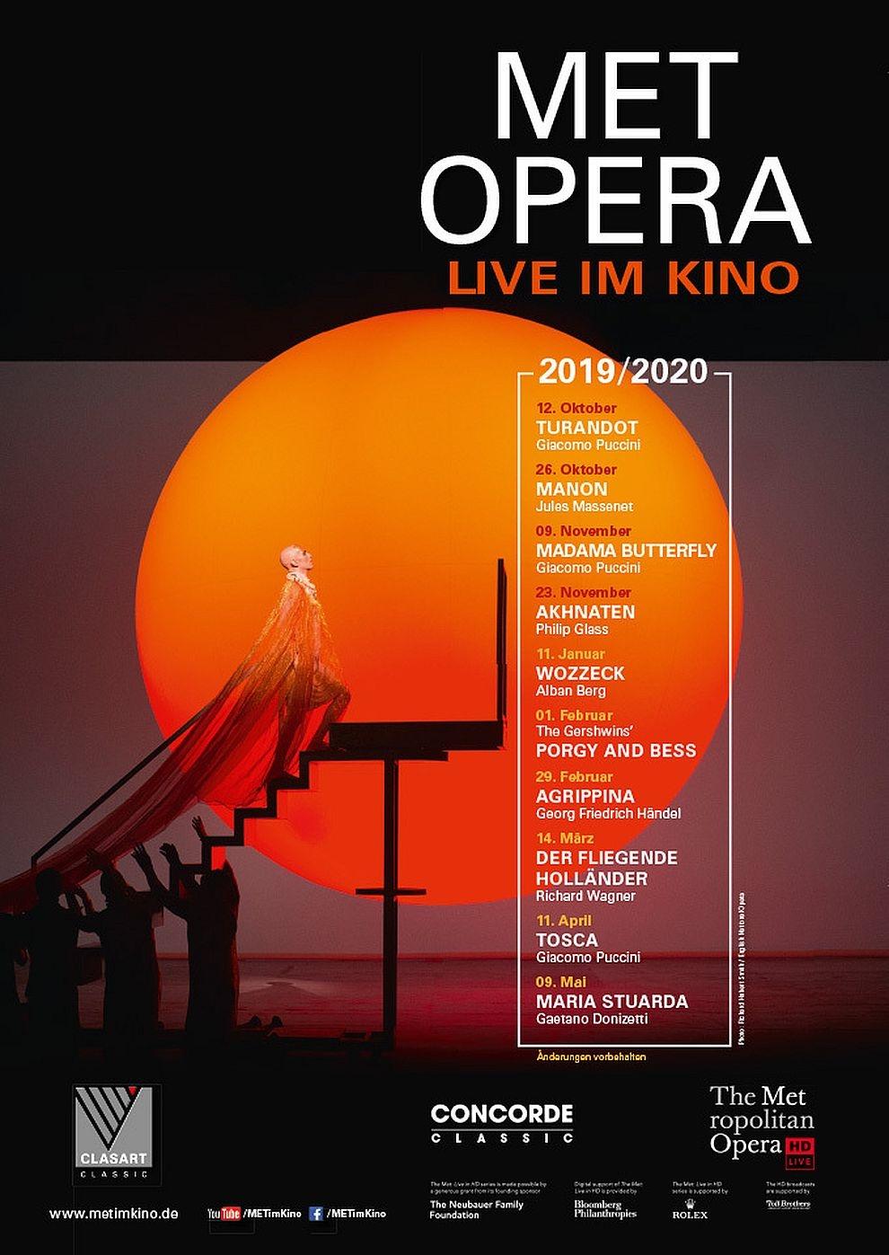 Met Opera 2019/20: Akhnaten (Glass) (Poster)