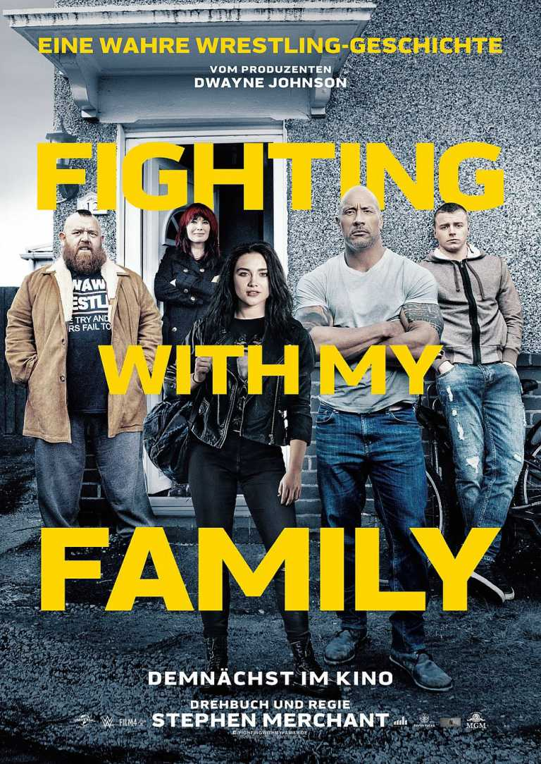 Fighting with my Family (Poster)
