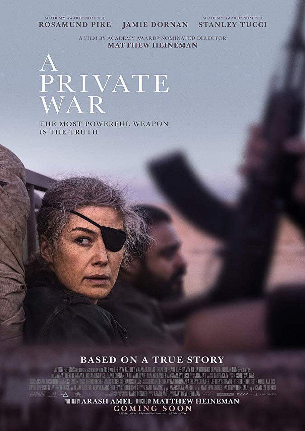 A Private War (Poster)