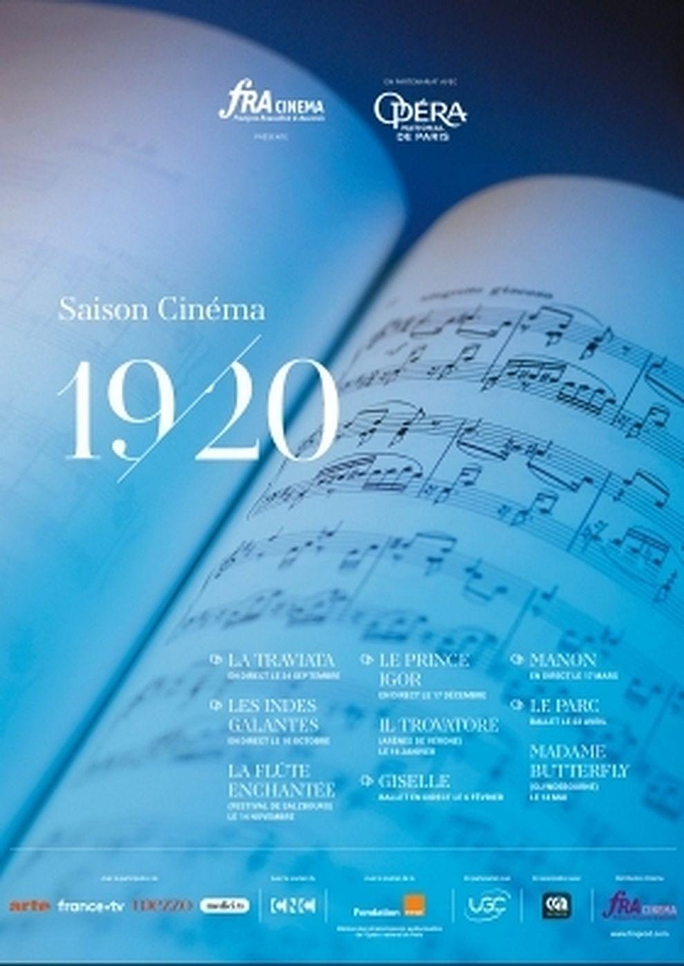 Opéra national de Paris 2019/20: La Traviata (Verdi) (Poster)