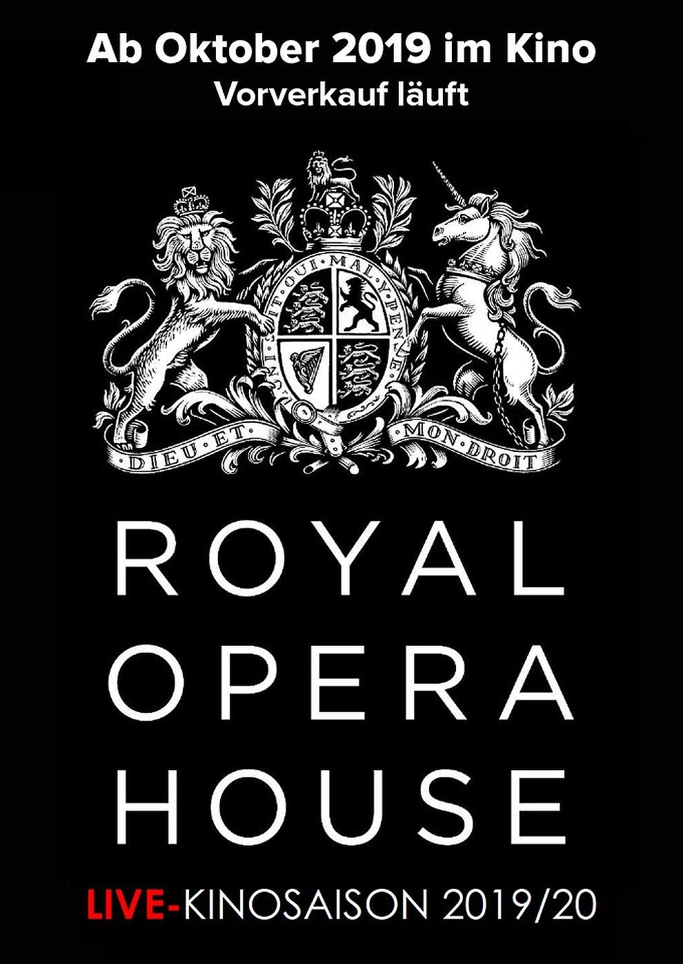 Royal Opera House 2019/20: Schwanensee (Poster)