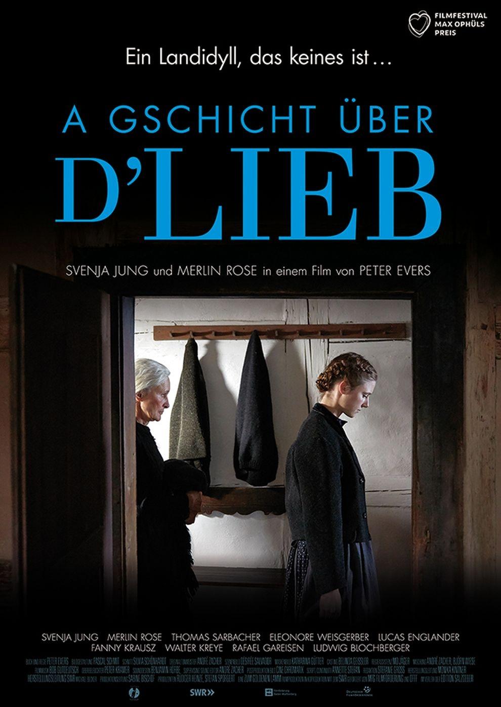 A Gschicht über d'Lieb (Poster)