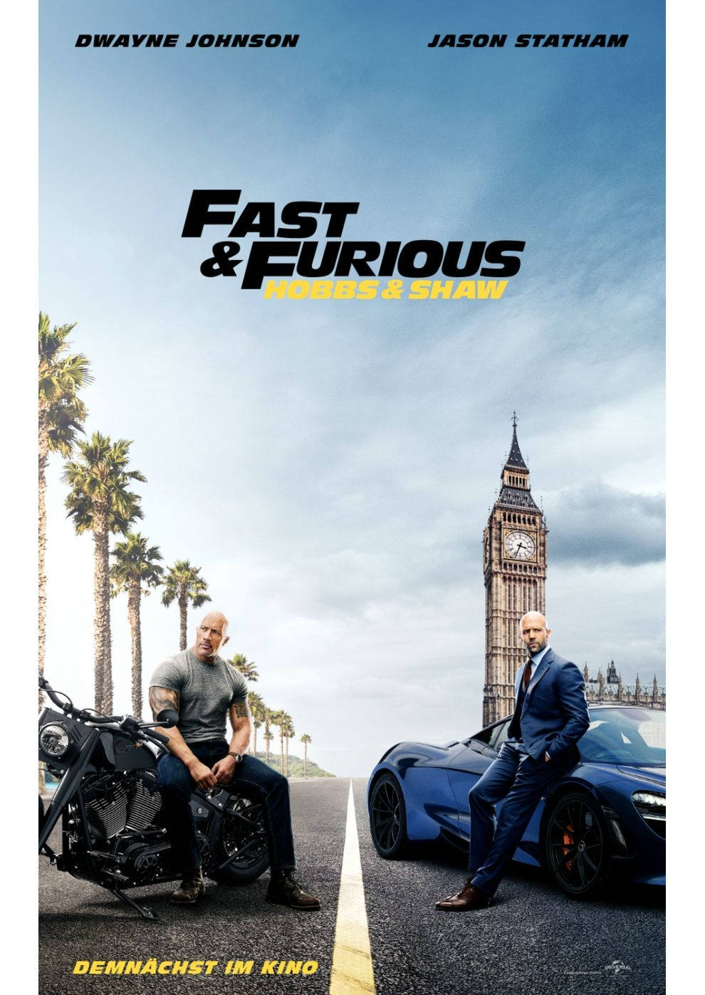 Fast & Furious: Hobbs & Shaw (Poster)