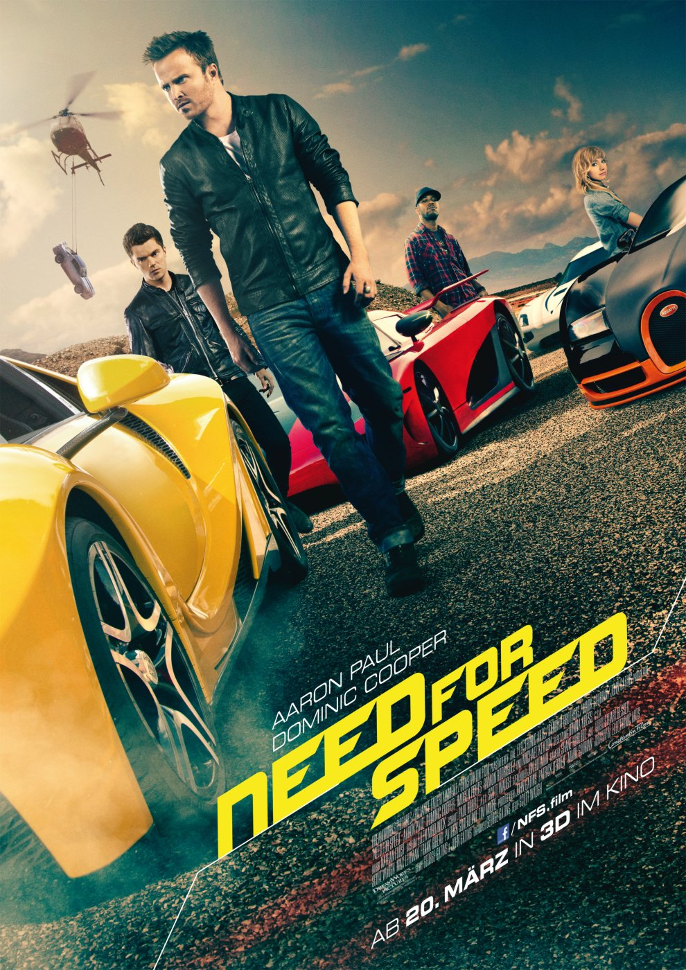 Need for Speed (Poster)