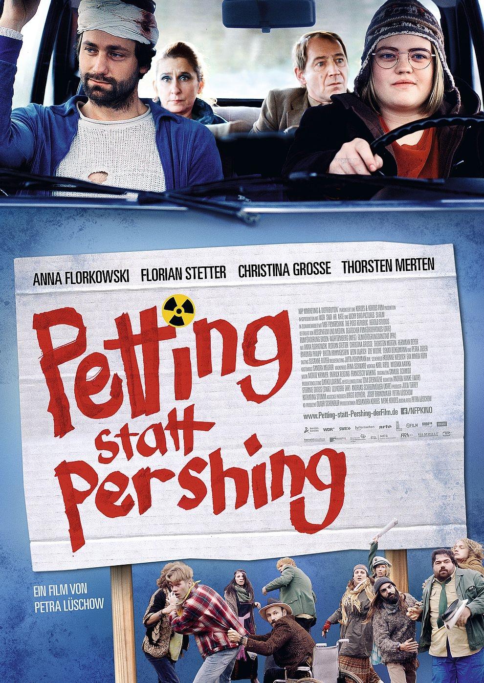 Petting statt Pershing (Poster)