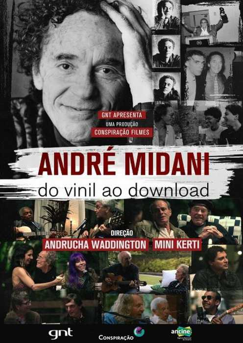 André Midani - A brief history of the Brazilian Music (Poster)