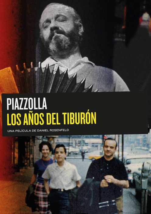 Astor Piazzolla - The Years of the Shark (Poster)