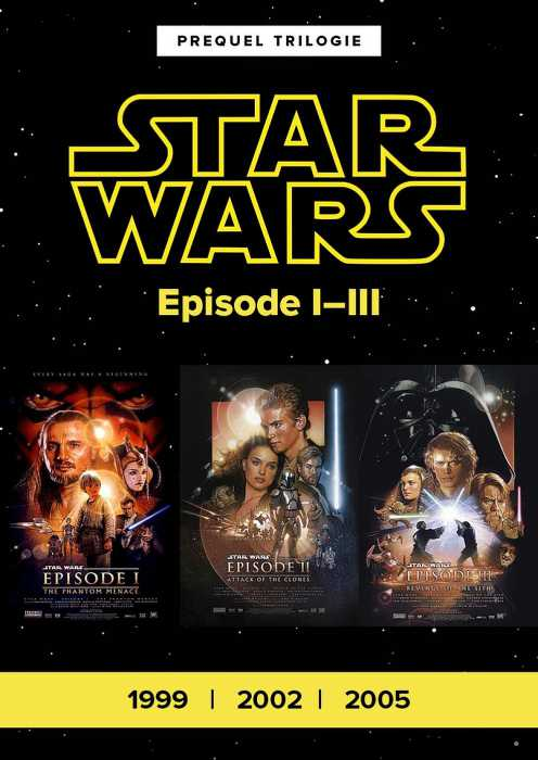 Star Wars Episode I-III (Poster)