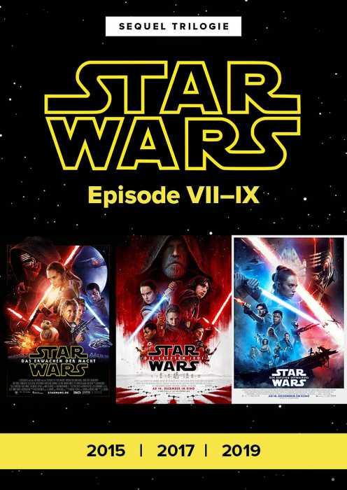 Star Wars Episode VII-IX (Poster)
