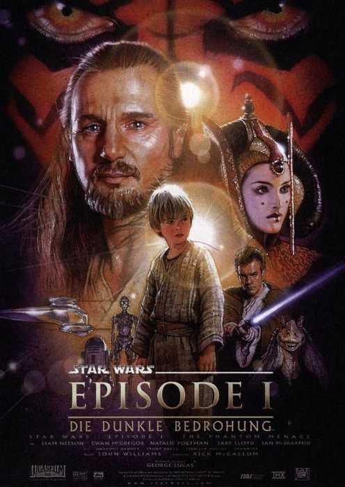 Star Wars: Episode 1 - Die dunkle Bedrohung (Poster)
