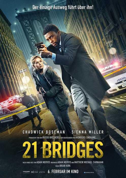 21 Bridges (Poster)