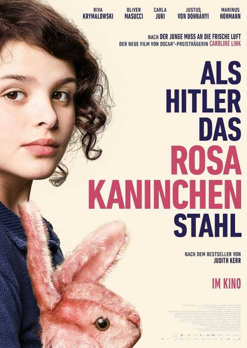 Als Hitler das rosa Kaninchen stahl (Poster)