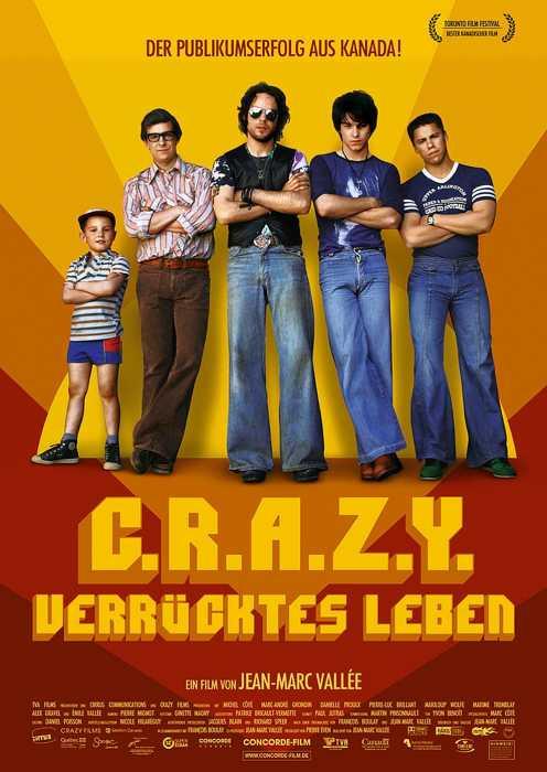 C.R.A.Z.Y. - Verrücktes Leben (Poster)