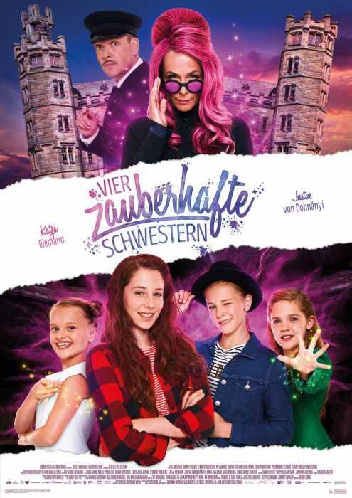 Vier zauberhafte Schwestern (Poster)