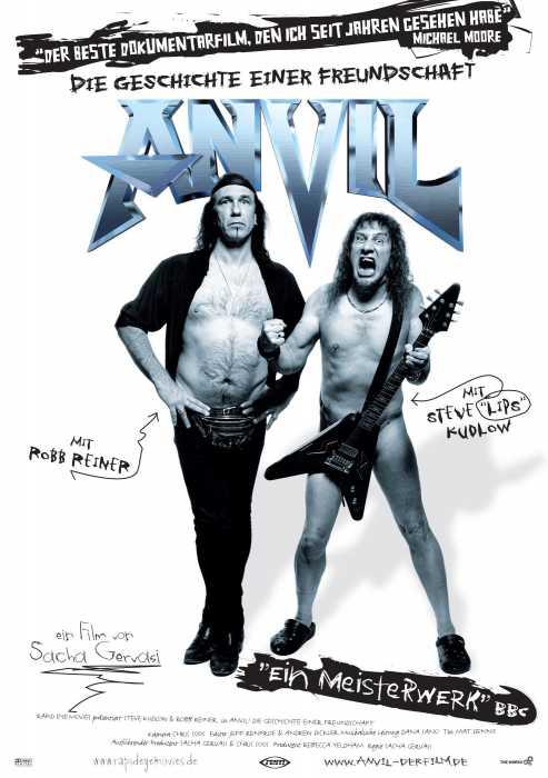 Anvil - Die Geschichte einer Freundschaft (Poster)