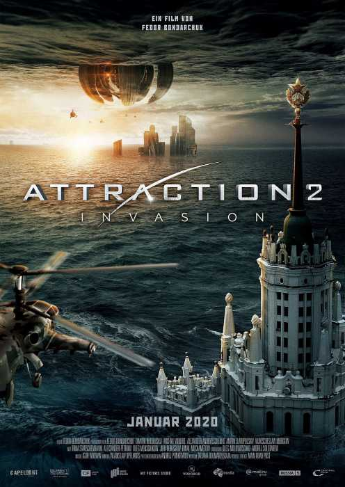 Attraction 2 - Invasion (Poster)