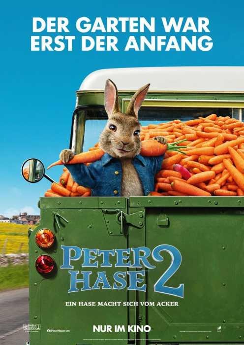 Peter Hase 2 - Ein Hase macht sich vom Acker (Poster)