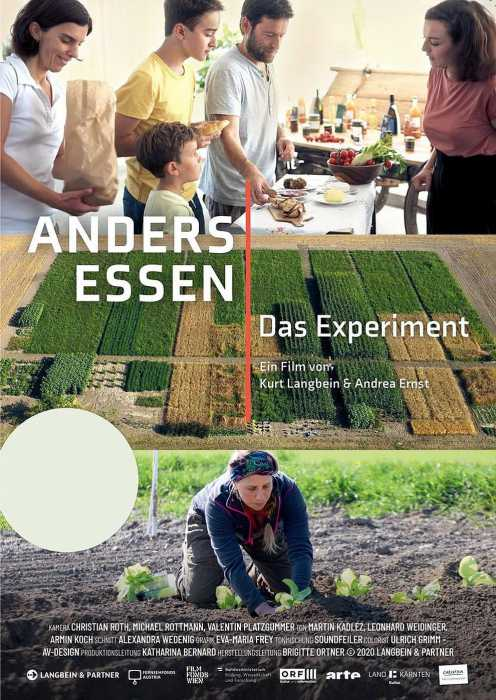 Anders essen - Das Experiment (Poster)