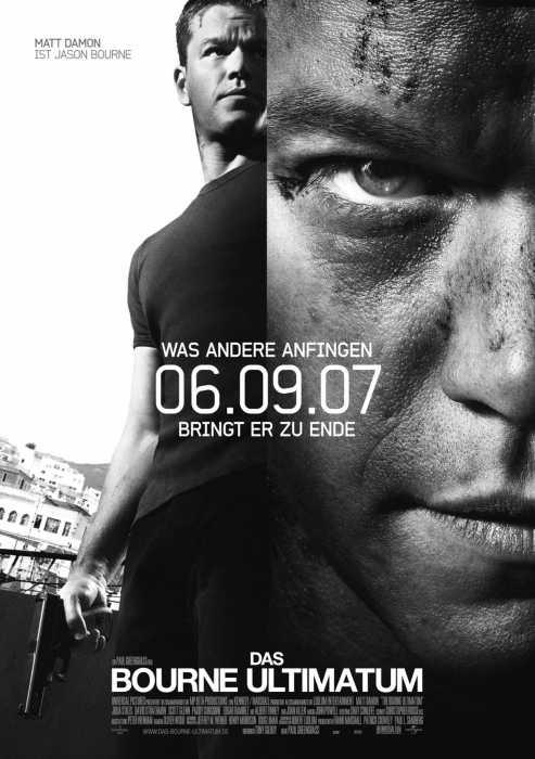 Das Bourne Ultimatum (Poster)