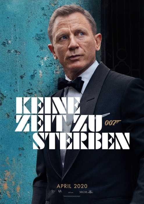 James Bond 007: Keine Zeit zu sterben (Poster)