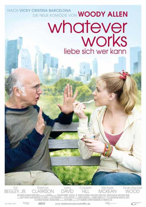 Whatever Works - Liebe sich wer kann (Poster)