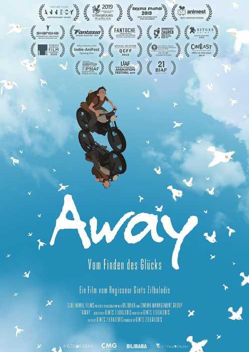 Away - vom Finden des Glücks (Poster)