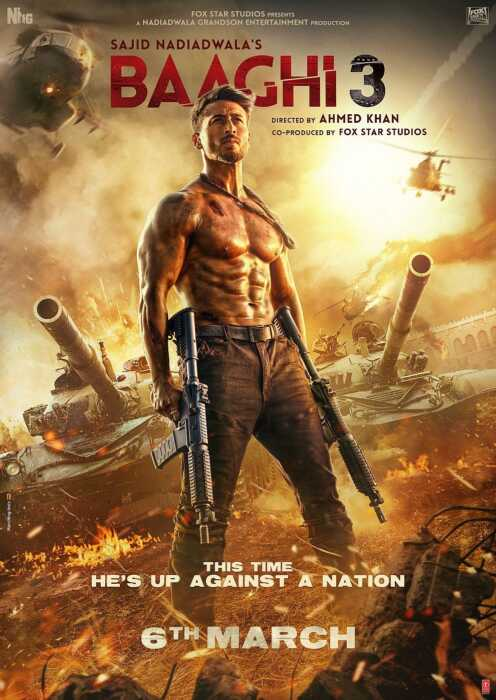 Baaghi 3 (Poster)
