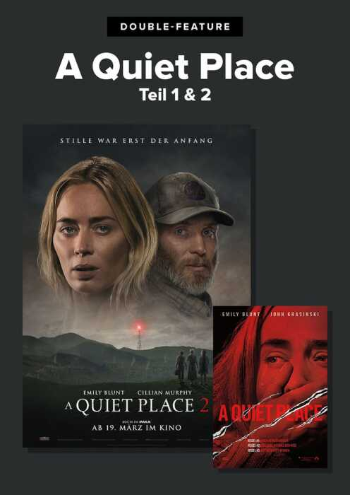 Double Feature: A Quiet Place (Poster)