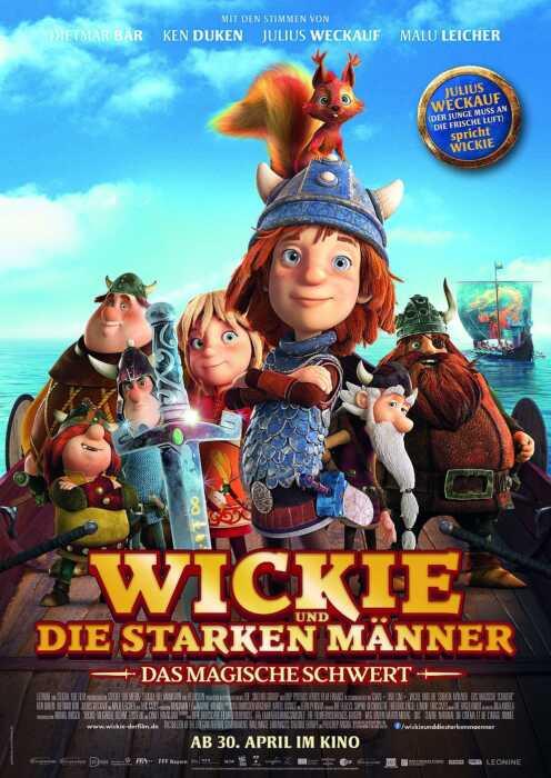 Wickie und die starken Männer - Das magische Schwert (Poster)