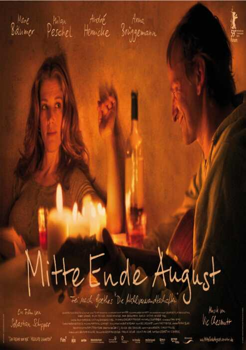 Mitte Ende August (Poster)