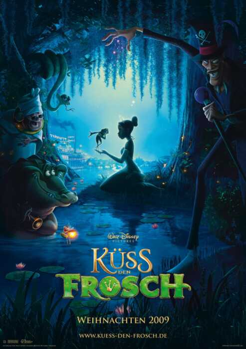 Küss den Frosch (Poster)