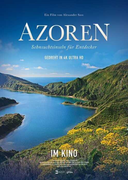 Azoren - Sehnsuchtsinseln für Entdecker (Poster)