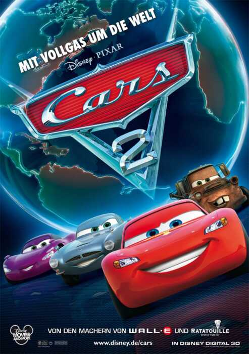 Cars 2 (Poster)