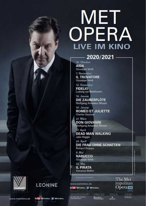 Met Opera 2020/21: Don Giovanni (Wolfgang Amadeus Mozart) (Poster)