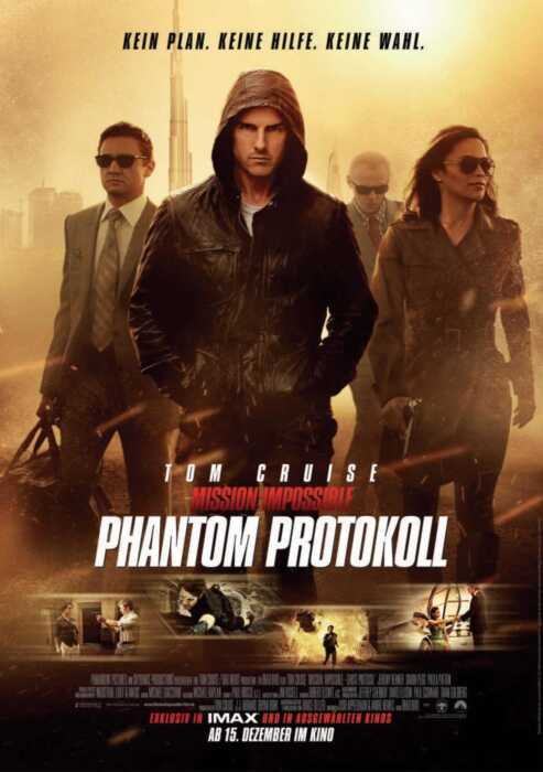 Mission: Impossible - Phantom Protokoll (Poster)