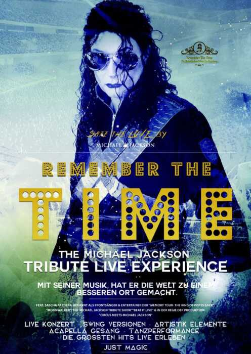 Remember the Time - The Michael Jackson Tribute Live Experience (Poster)
