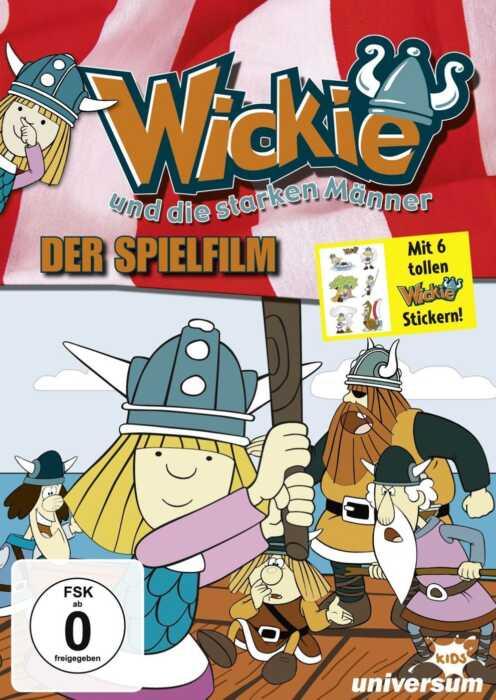 Wickie und die starken Männer (1973) (Poster)