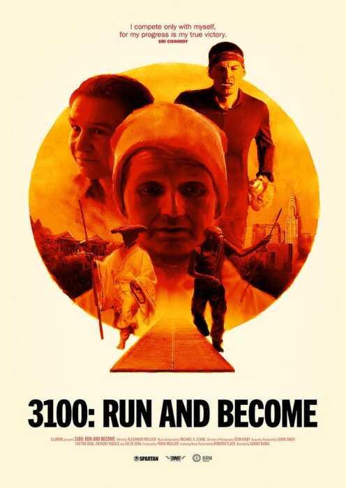 3100 Meilen: Laufen für die Seele (Poster)