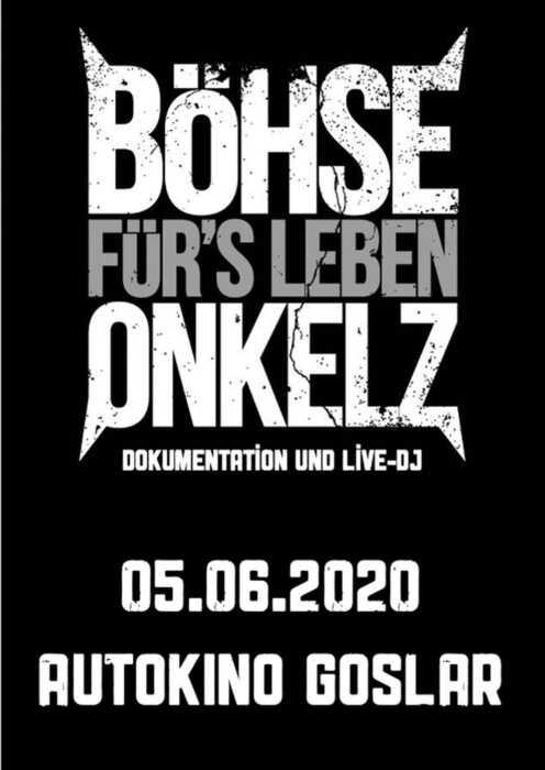 Böhse Onkelz: Böhse für's Leben - Dokumentation und Live-DJ (Poster)