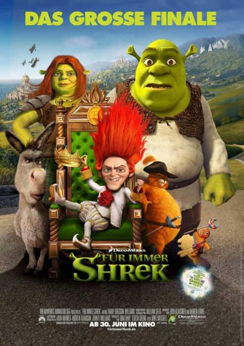 Für immer Shrek (Poster)