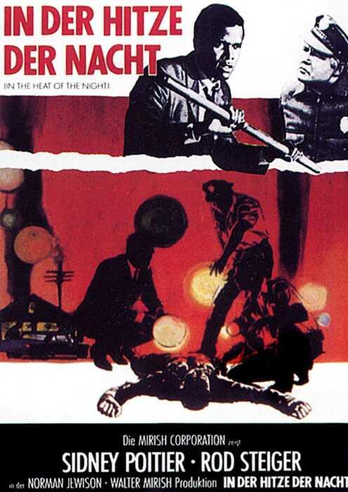 In der Hitze der Nacht (1967) (Poster)