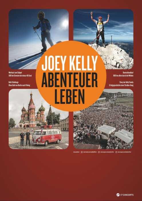 Joey Kelly: Abenteuer Leben - Sommer Tour 2020 (Poster)