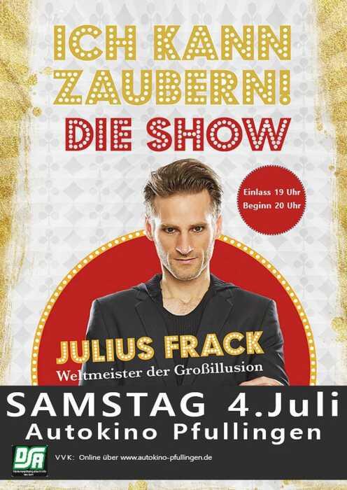 """Julius Frack - """"Ich kann zaubern"""" Die Show (Poster)"""