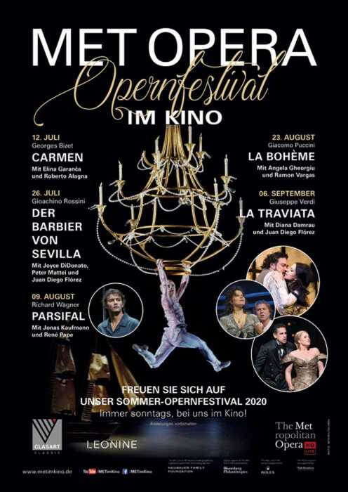 Met Opera: Bizet Carmen (Poster)