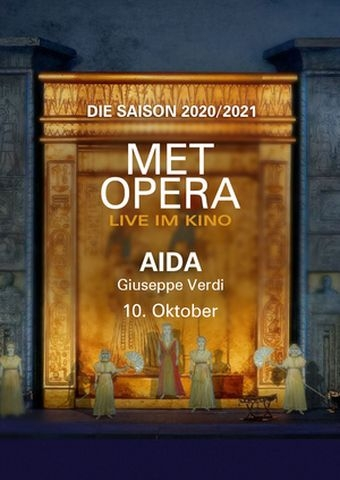 Met Opera: Verdi Aida (Poster)
