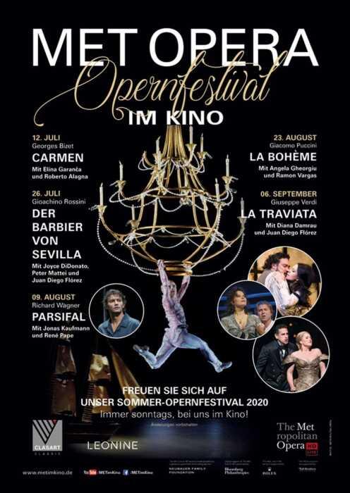 Met Opera: Verdi La Traviata (Poster)