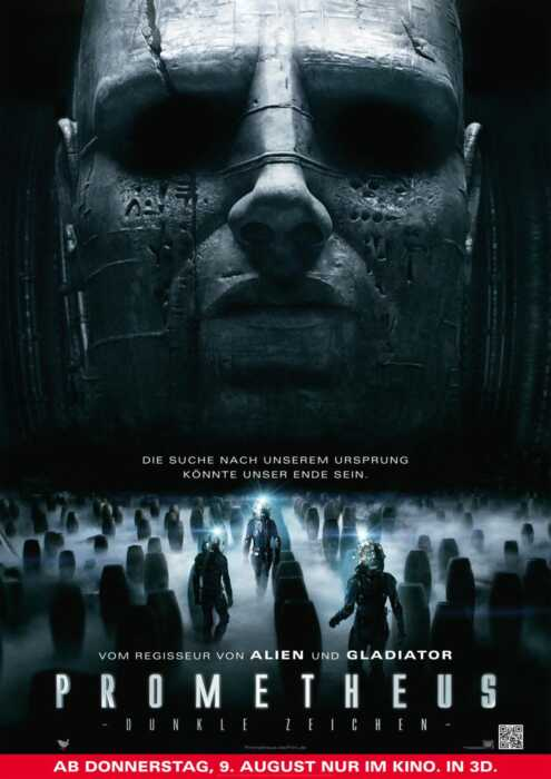 Prometheus - Dunkle Zeichen (Poster)