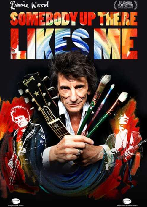 Ronnie Wood: Somebody Up There Likes Me (Poster)
