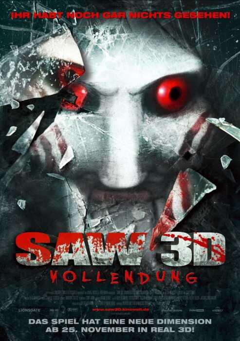 Saw 3D - Vollendung (VII) (Poster)