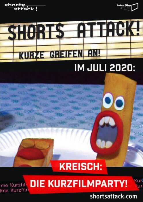 Shorts Attack 2020: Kreisch! Die Kurzfilmparty (Poster)